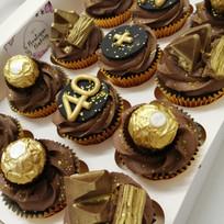 Luxury chocolate cupcakes