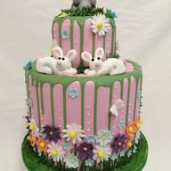 Summer bunny cake