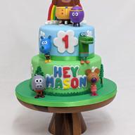Hey Duggee themed cake