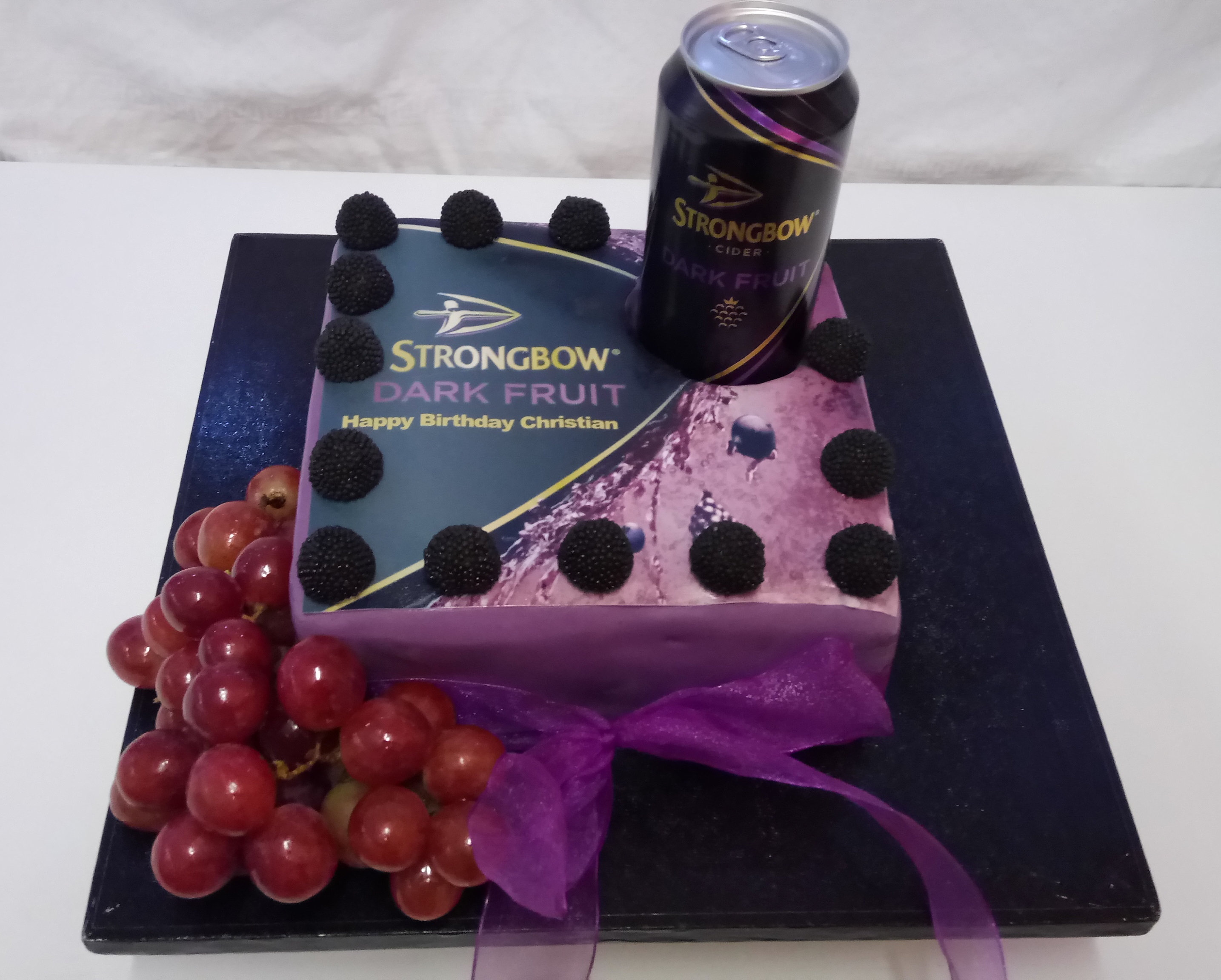 Cake With Fruit Light