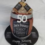 3D Jack Daniels barrel cake
