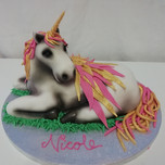 3D Pegasus cake