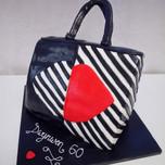 3D Lulu Guiness bag cake