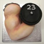 Bicep cake