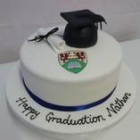 Gluten free graduation cake
