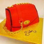 3D handbag cake