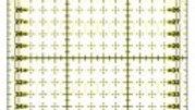 Regla patchwork 15cm x 60 cm