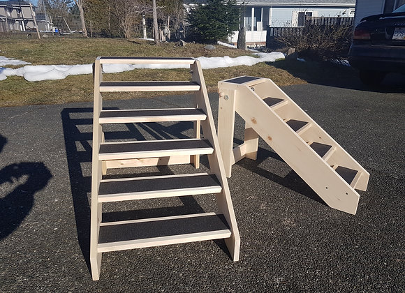 "6 Step Stairs, Collapsible, 18"" Stair Width x 24"" height"
