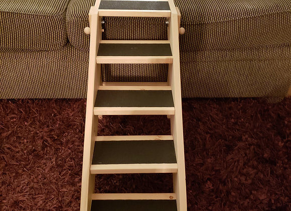 "Pet Stairs, Collapsible, 10"" stair width x 20"" height"