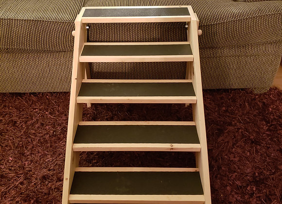 "Pet Stairs, Collapsible, 18"" stair width x 20"" height"