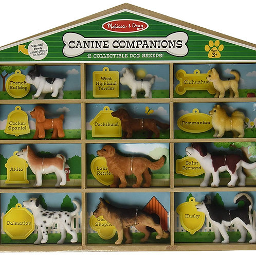Melissa and Doug K9 Companion 12 collectible dog breeds