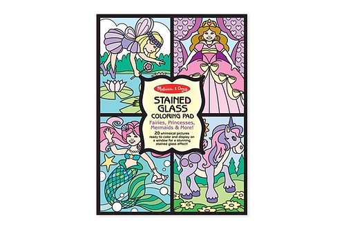 melissa and doug stained glass coloring pad