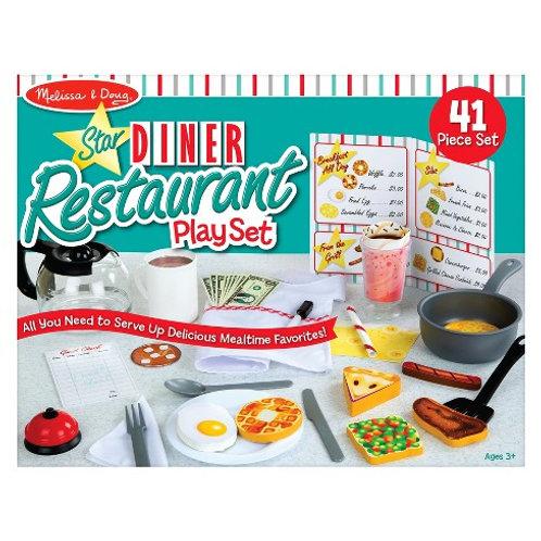 Melissa and Doug Star Diner Restaurant Play Set