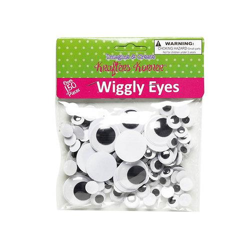 krafters korner 150  wiggly eyes