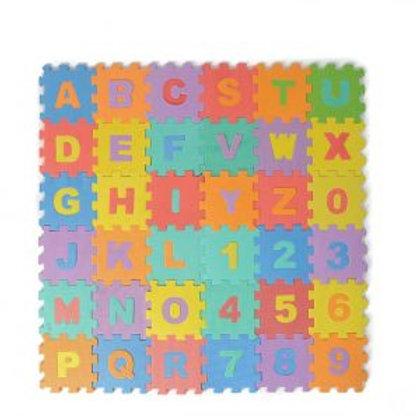 Hunsen alphabet foam puzzle