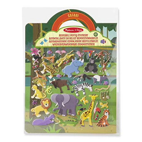 Melissa and Doug Safari 42 reusable sticker set