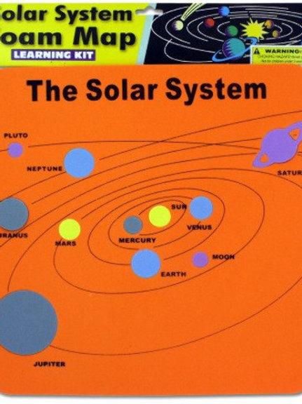 solar system foam map