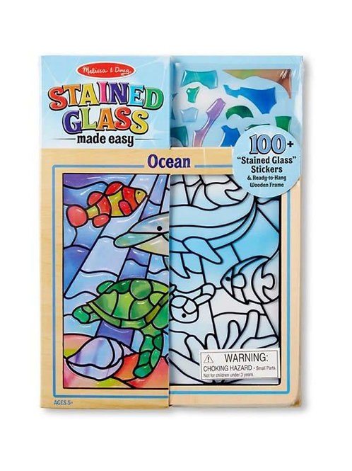 melissa and doug stain glass made easy ocean