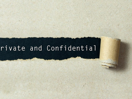 Confidentiality: Personal Choice or Professional code of conduct?