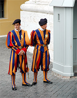 Female Bodyguards for the Pope?