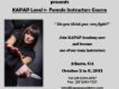 KAPAP Level 1- Female Instructors Course by KAPAP ACADEMY LLC