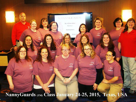 Student's Feedback from our January 24-25, 2015 Nannyguards Class in Texas, USA