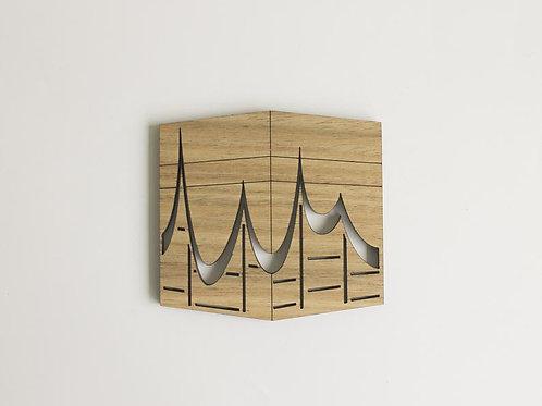 Kaaba Wood Laser Cut