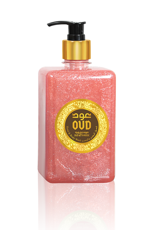 Rose Liquid Soap 17oz 500ml