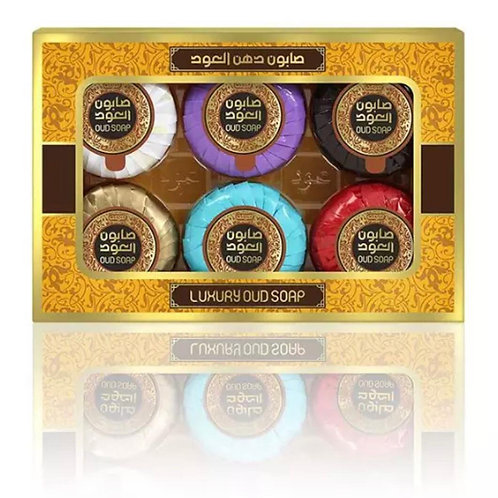 6-Mini Soap Bars 20g Variety Pack
