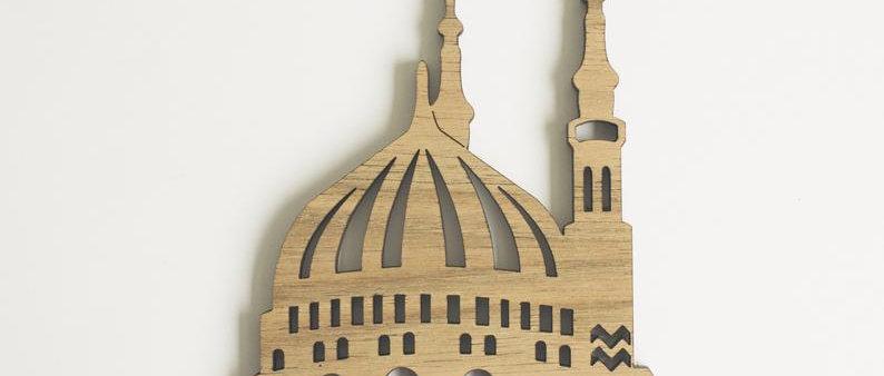 Masjid Nabwi Dome Wall Frame