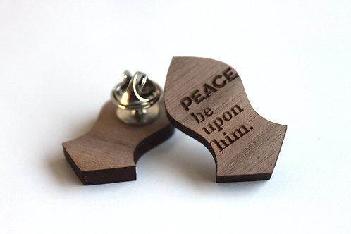 Nalayn Wood Pin