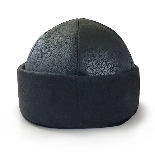 Turkish Ottoman Alp Hat Bork Hat Flat Ertugrul IYI - Black - Kayi Tribe Drillis