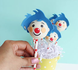 Cakepops Cara payaso