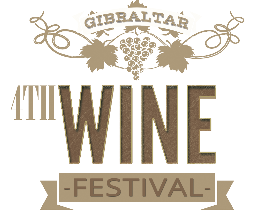 Wine Festival website graphic flat