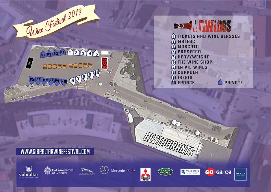 7th Wine Fest for Magazine centre spread