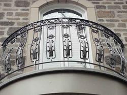 Exterior - Iron Balcony