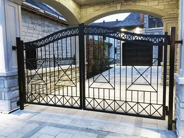 Exterior - Wrought Iron Gate
