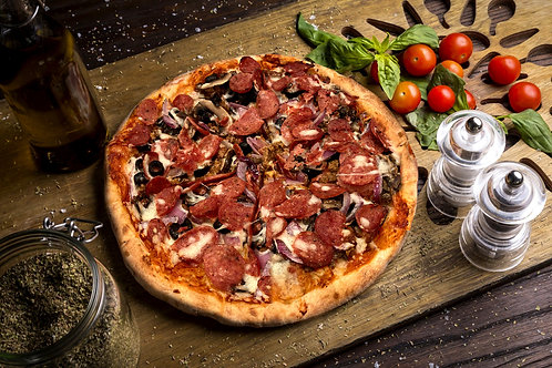 """5 Pack 12"""" Premium Wood Fired Pizzas"""