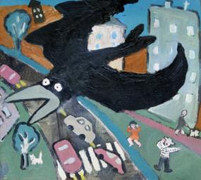 Грач – птица веселая