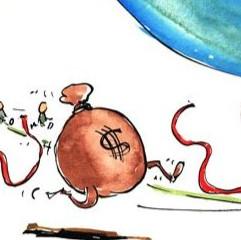 NO ECONOMIC VICTORY LAP