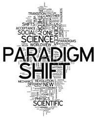A PARADIGM SHIFT – CREATIVE DISRUPTION!
