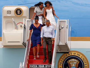 WE WILL MISS THE OBAMAS