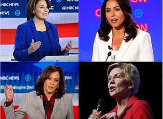 WOMEN ROCK IN FIFTH DEMOCRATIC DEBATE