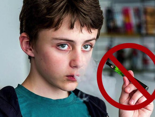 LET'S CLAMP DOWN ON TOBACCO AND VAPING PRODUCT ACCESS FOR YOUNG PEOPLE