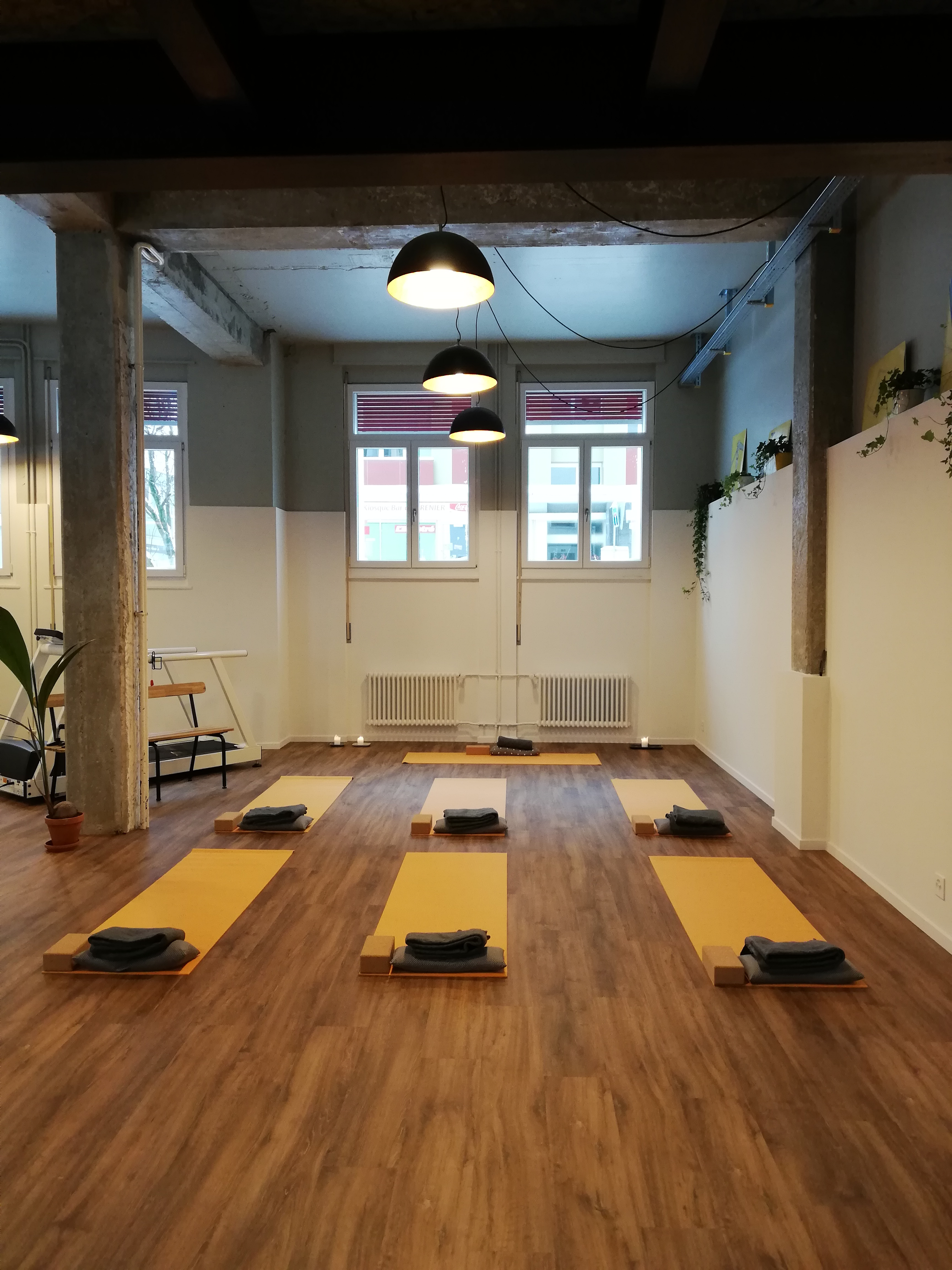 Salle La Chaux-de-Fonds hatha yoga