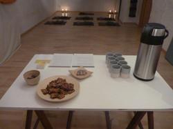 Tisane et snacks (portes ouvertes)