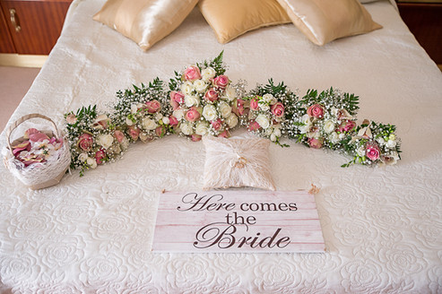 Here come's the bride
