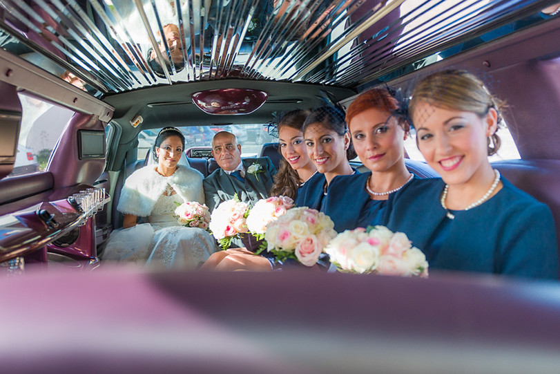 Bridal limo