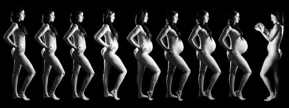9 months maternity progression