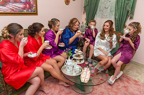 wedding tea party